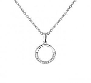 925 sterling zilver / zirkonia