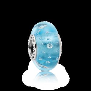 925 sterling zilver / Muranoglas / Zirkonia